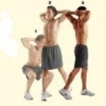 image of squat twist for 5 best exercises for golf article