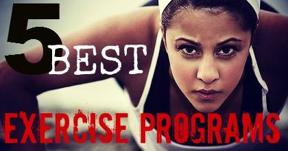Logo for 5 best exercises blog