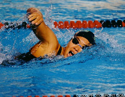 image of woman for article about swimming